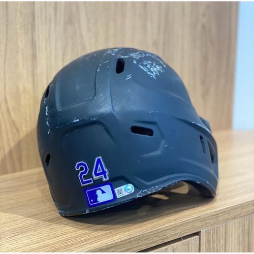 Photo of 2021 Team-Issued Batting Helmet - Ryan McMahon