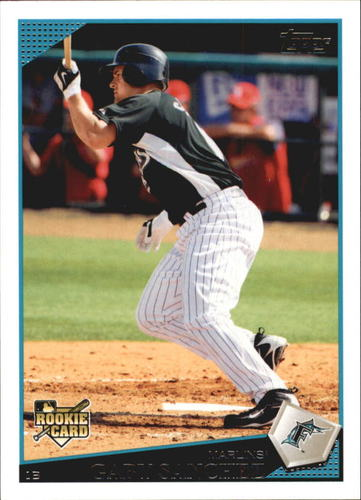 Photo of 2009 Topps Update #UH278 Gaby Sanchez RC