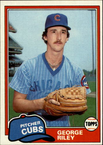 Photo of 1981 Topps #514 George Riley RC