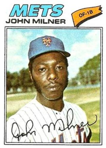 Photo of 1977 Topps #172 John Milner