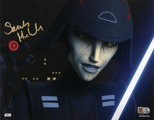 Sarah Michelle Gellar as Seventh Sister 8x10 Autographed In Gold Ink Photo