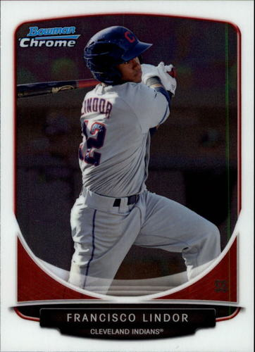 Photo of 2013 Bowman Chrome Draft Top Prospects #TP17 Francisco Lindor Pre-rookie card
