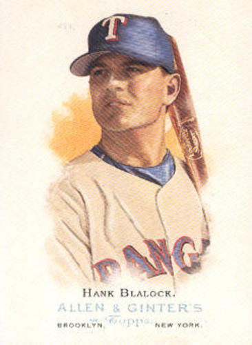 Photo of 2006 Topps Allen and Ginter #138 Hank Blalock
