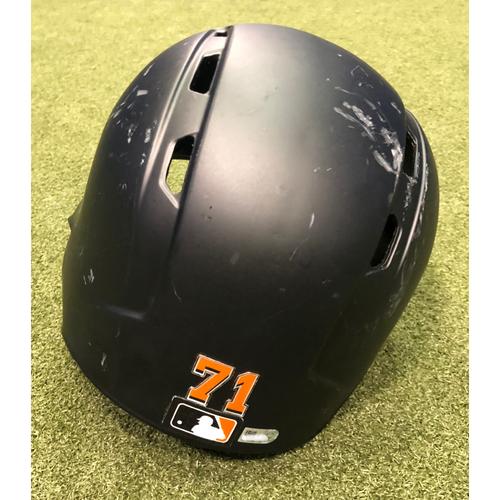 Team-Issued Helmet: Drew Steckenrider - Size 7 5/8