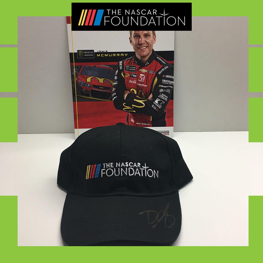 NASCAR's Jamie McMurray Autographed Hat!