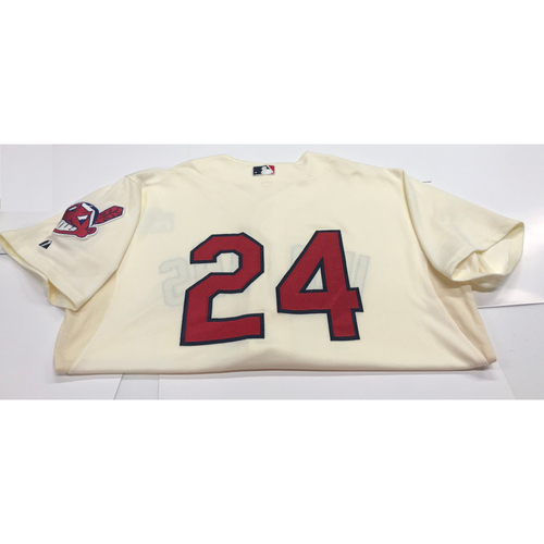 Photo of Michael Bourn Team Issued 2013 Alternate Home Jersey