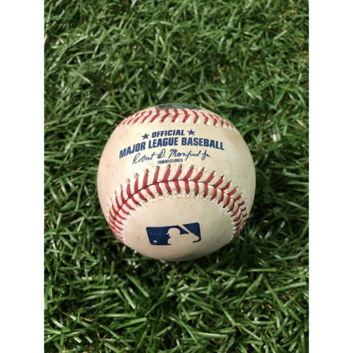 Photo of Game-Used Baseball: Mike Zunino single off Scott Oberg - April 3, 2019 v COL