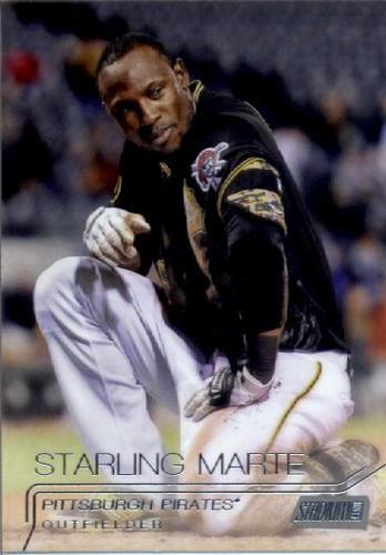 Photo of 2015 Stadium Club #73 Starling Marte
