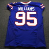 Crucial Catch - Bills Kyle Williams Signed Used Jersey (10.07.18) Size 46 W/ Captain's Patch