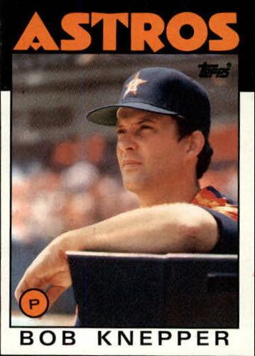 Photo of 1986 Topps #590 Bob Knepper