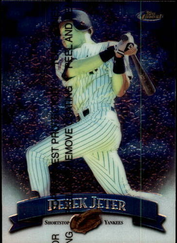 Photo of 1998 Finest #92 Derek Jeter