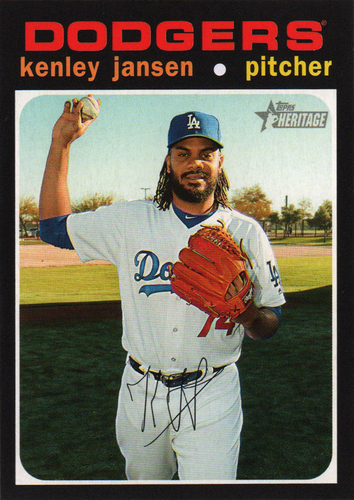 Photo of 2020 Topps Heritage #36 Kenley Jansen