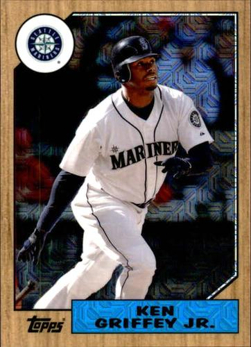 Photo of 2017 Topps '87 Topps Silver Pack Chrome #87KG Ken Griffey Jr.