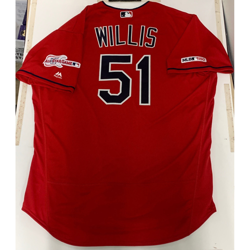 Photo of Carl Willis Team Issued 2019 Alternate Home Jersey