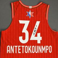 Giannis Antetokounmpo - 2020 NBA All-Star - Team Giannis - Autographed Jersey