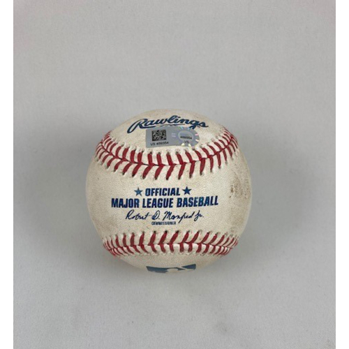 Photo of 2019 Chicago White Sox Game-Used Baseball (August) - Choose Your Game Date!