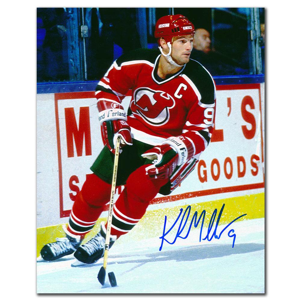 Kirk Muller New Jersey Devils CAPTAIN Autographed 8x10