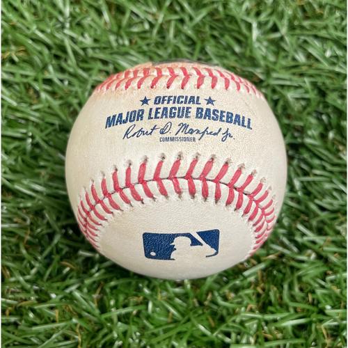 Photo of Game Used Baseball: Mike Zunino RBI single off Mike Minor - Bottom 4 - May 26, 2021 v KC