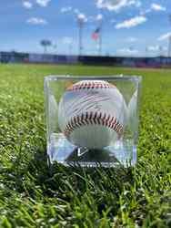 Photo of Gleyber Torres Signed Baseball