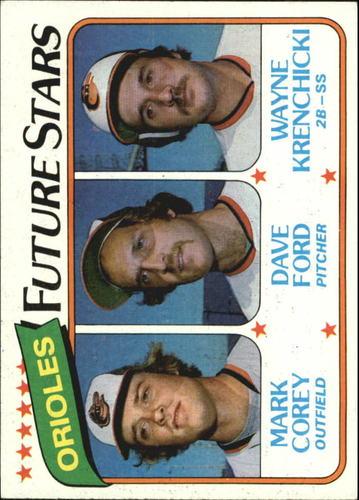Photo of 1980 Topps #661 Mark Corey/Dave Ford RC/Wayne Krenchicki RC