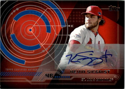 Photo of 2014 Topps Trajectory Autographs #TAKS Kevin Siegrist S2