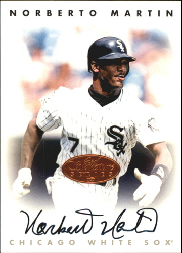 Photo of 1996 Leaf Signature Autographs #144 Norberto Martin