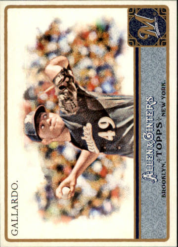 Photo of 2011 Topps Allen and Ginter #287 Yovani Gallardo