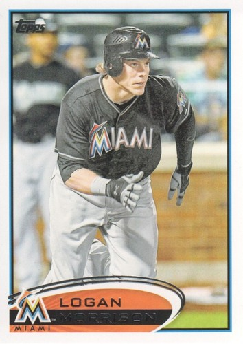 Photo of 2012 Topps #630 Logan Morrison