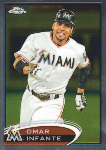 Photo of 2012 Topps Chrome #220 Omar Infante