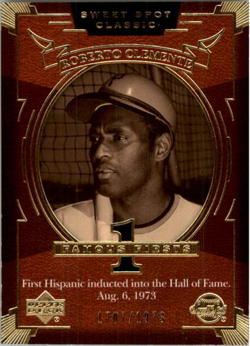 Photo of 2004 Sweet Spot Classic #140 Roberto Clemente FF/1973