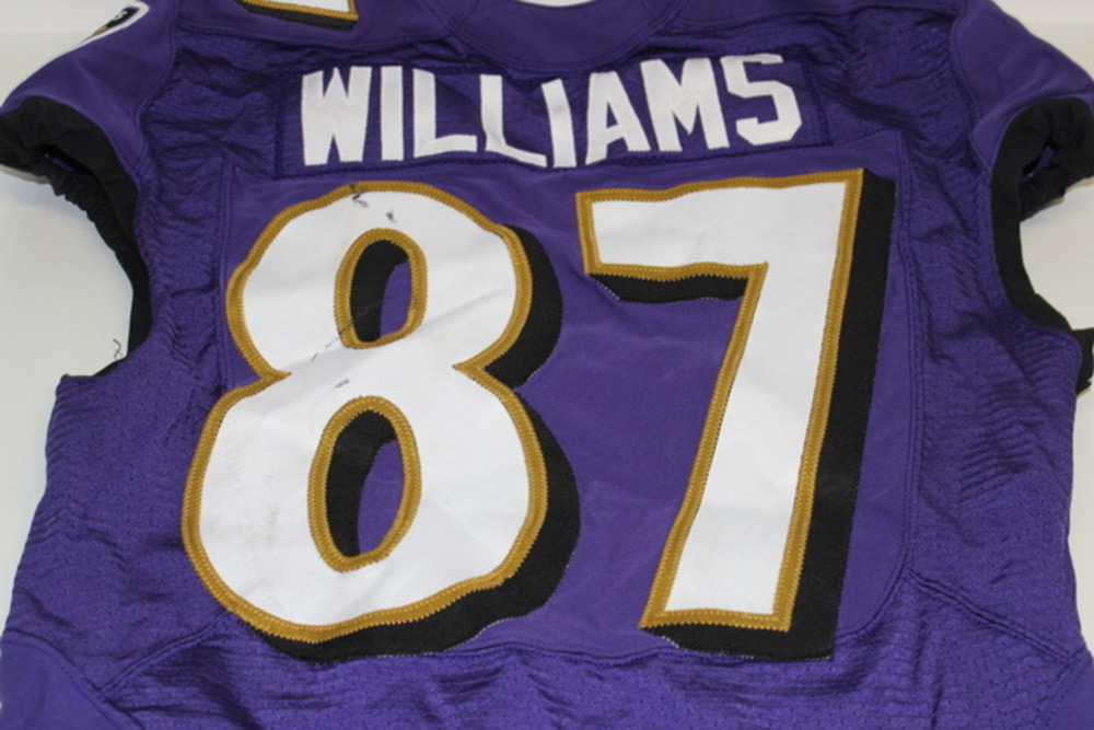 NFL Auction | STS - RAVENS MAXX WILLIAMS GAME WORN RAVENS JERSEY ...