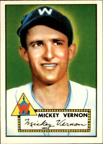 Photo of 1983 Topps 1952 Reprint #106 Mickey Vernon