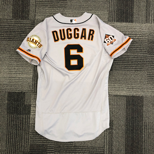 Photo of 2018 Team Issued Road Alternate Jersey - #6 Steven Duggar - Size 44