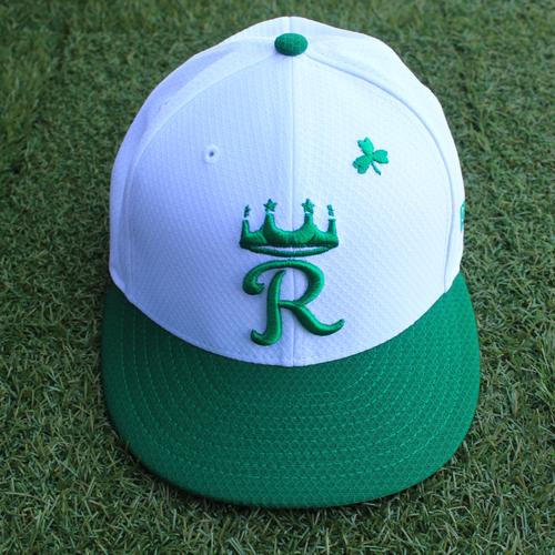 Team-Issued Saint Patrick's Day Cap: Brain Goodwin (Size 7 1/2 - SEA @ KC - 3/17/19)