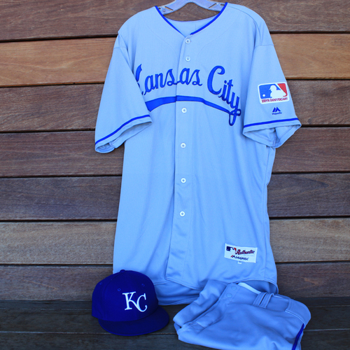 Photo of Game-Used 1969 Throwback Jersey, Pants and Cap: Dale Sveum (Jersey Size 48 - KC @ WSH  - 7/6/19)