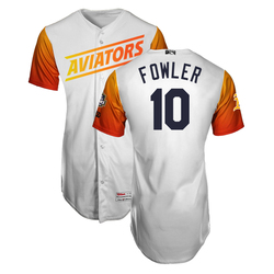 Photo of Dustin Fowler #10 Las Vegas Aviators 2019 Home Jersey