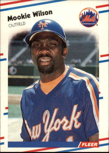 Photo of 1988 Fleer #154 Mookie Wilson