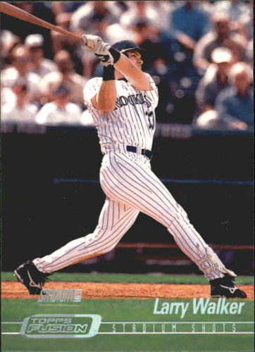 Photo of 2001 Topps Fusion #140 Larry Walker SC