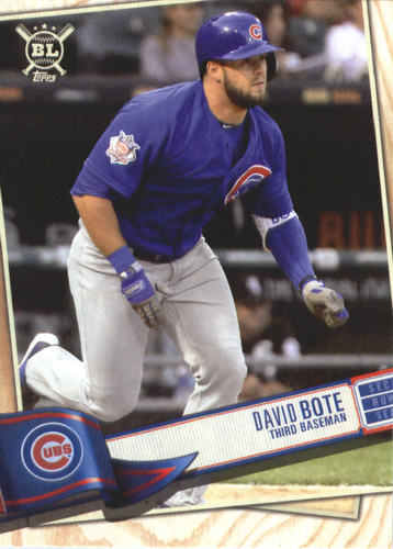 Photo of 2019 Topps Big League #66 David Bote