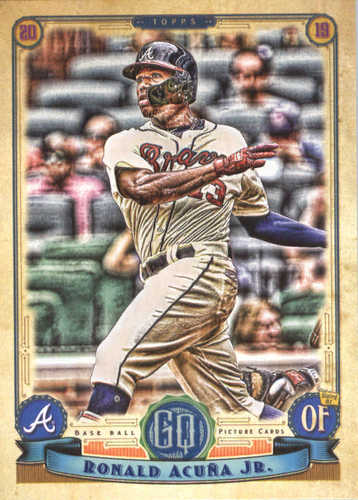 Photo of 2019 Topps Gypsy Queen #150 Ronald Acuna Jr.