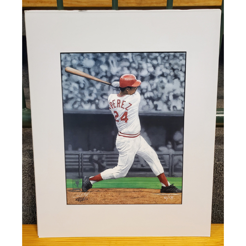 Photo of Tony Perez Matted Print