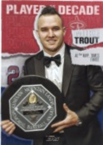 Photo of 2020 Topps Player of the Decade Mike Trout #MT25 Mike Trout