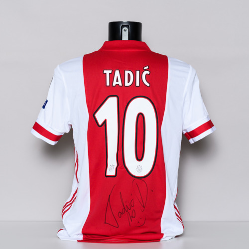 Photo of 20/21 AEC Ajx Jersey - signed by Dusan Tadic