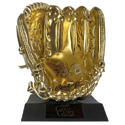 Photo of Cardinals Authentics: Nolan Arenado Autographed Mini Gold Glove