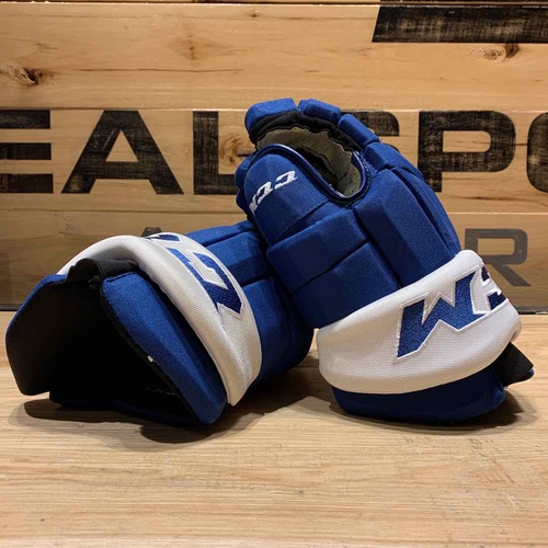 Pierre Engvall 2020-21 Game Worn Gloves
