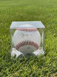 Photo of Jim Leyland Signed Baseball
