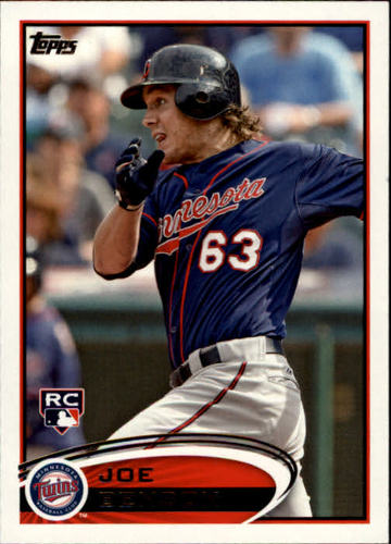 Photo of 2012 Topps #235 Joe Benson RC