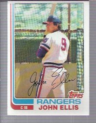 Photo of 1982 Topps #177 John Ellis