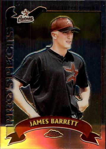 Photo of 2002 Topps Chrome Traded #T175 James Barrett RC