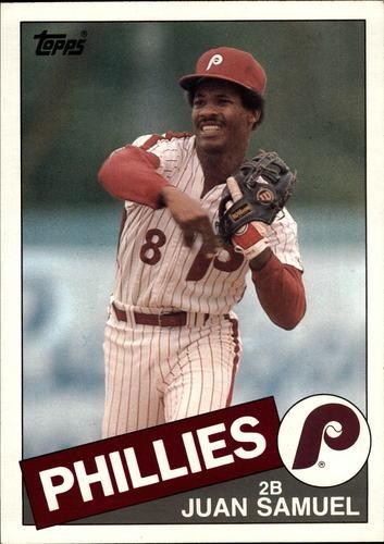 Photo of 1985 Topps Super #28 Juan Samuel